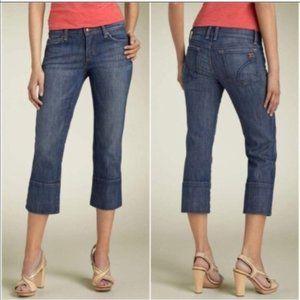 Joes Jeans Socialite Kicker Cropped Denim Sz 28